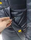 """Подовжена зимова куртка """"Бонні"""", фото 7"""