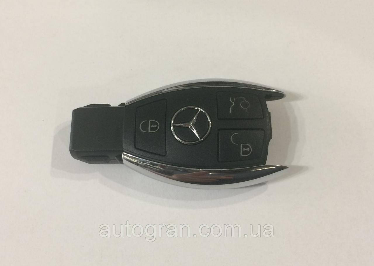 Корпус смарт ключа Mercedes рибка новий тип 3 кнопки
