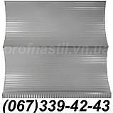 Сайдинг металлический под доску Темный дуб 067-339-42-43 (шир. 0,35 м), фото 4