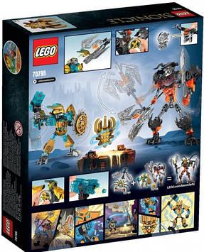 Lego Bionicle Создатель Масок Против Стального Черепа