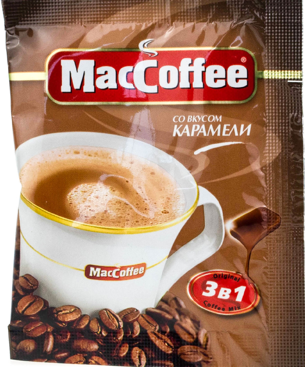 MacCoffee Карамель 3-в-1 20 шт
