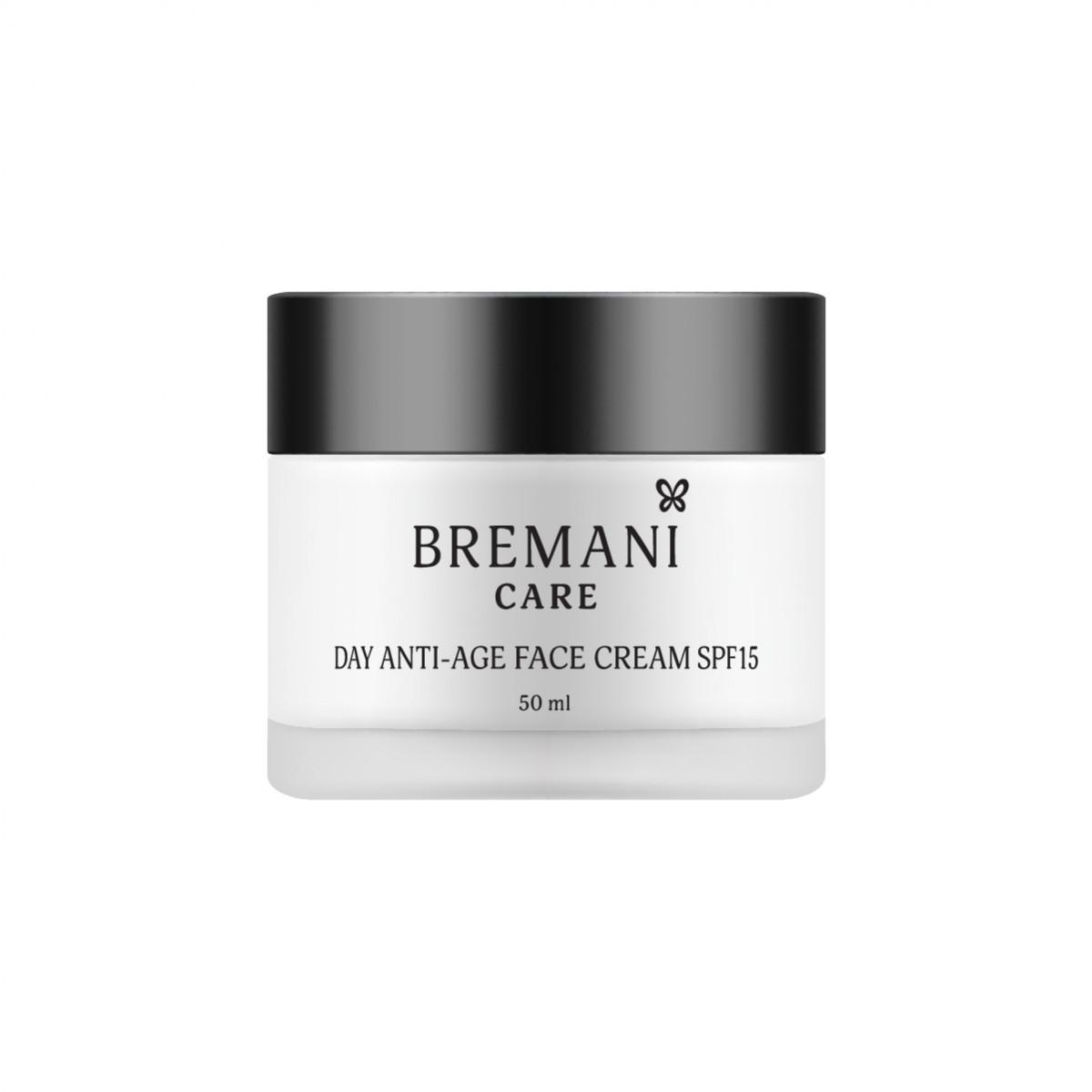 Day Anti-age Face Cream SPF 15 40+ Денний омолоджуючий крем для обличчя spf 15 40+, Bremani