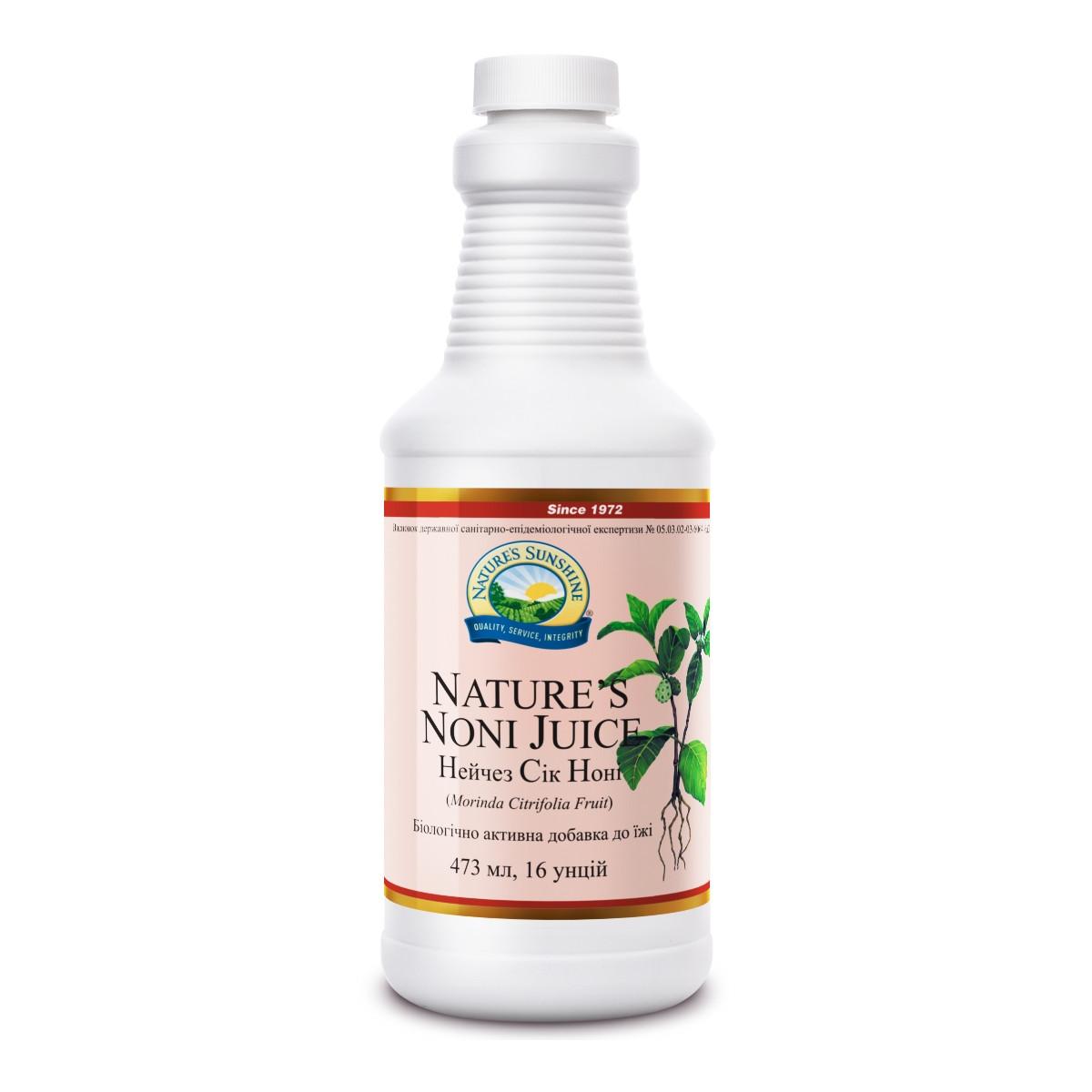 Сік Ноні Нэйчез nature's Noni Juice, NSP, США