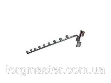Кронштейн флейта в рейку на 9 шаров