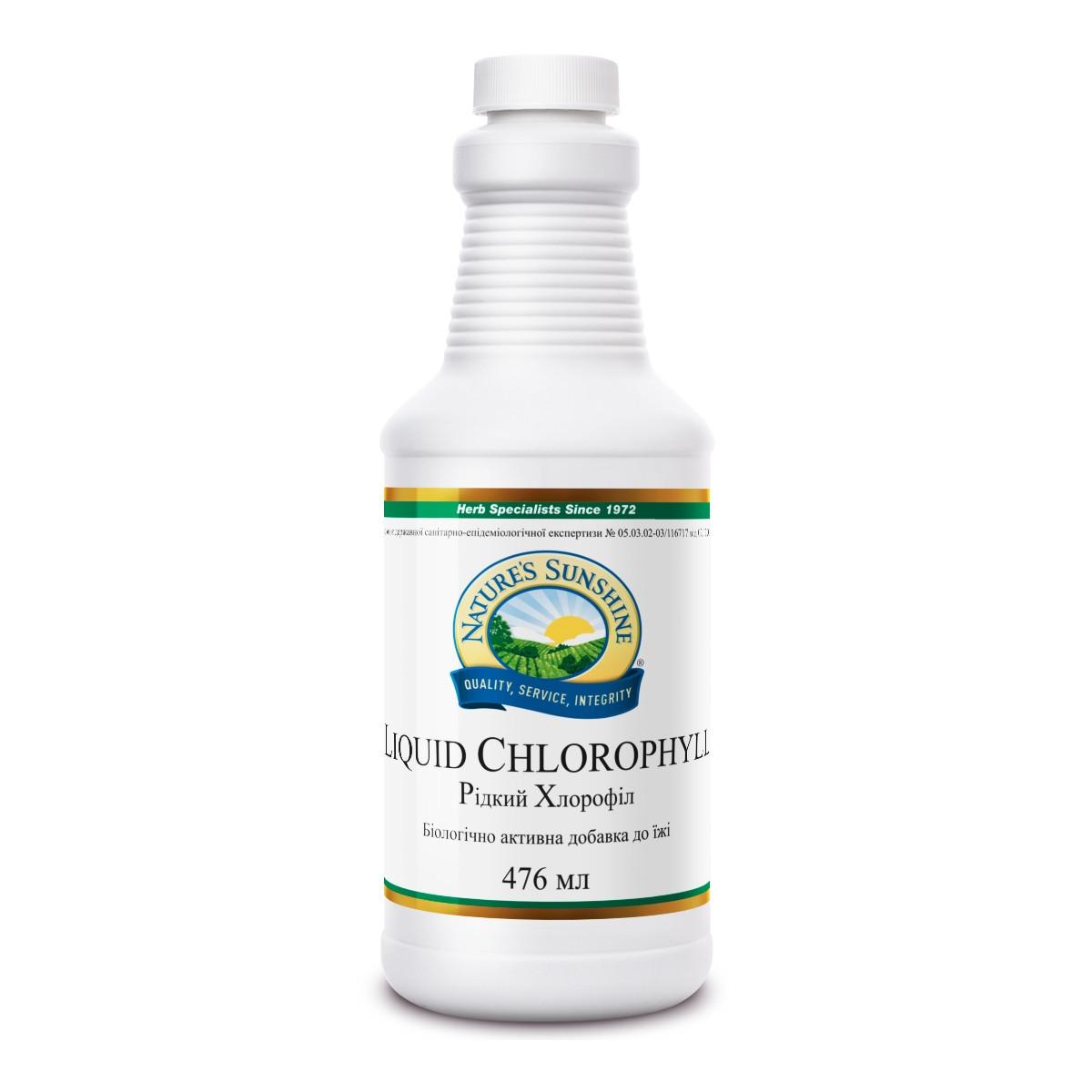 Жидкий Chlorophyll Liquid, Хлорофилл жидкий, NSP, США