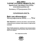 MSM, МСМ (сера), NSP, НСП, США., фото 4