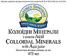 Colloidal Minerals with Acai Juice Коллоидные минералы с соком Асаи, NSP, США. Комплекс минералов., фото 3