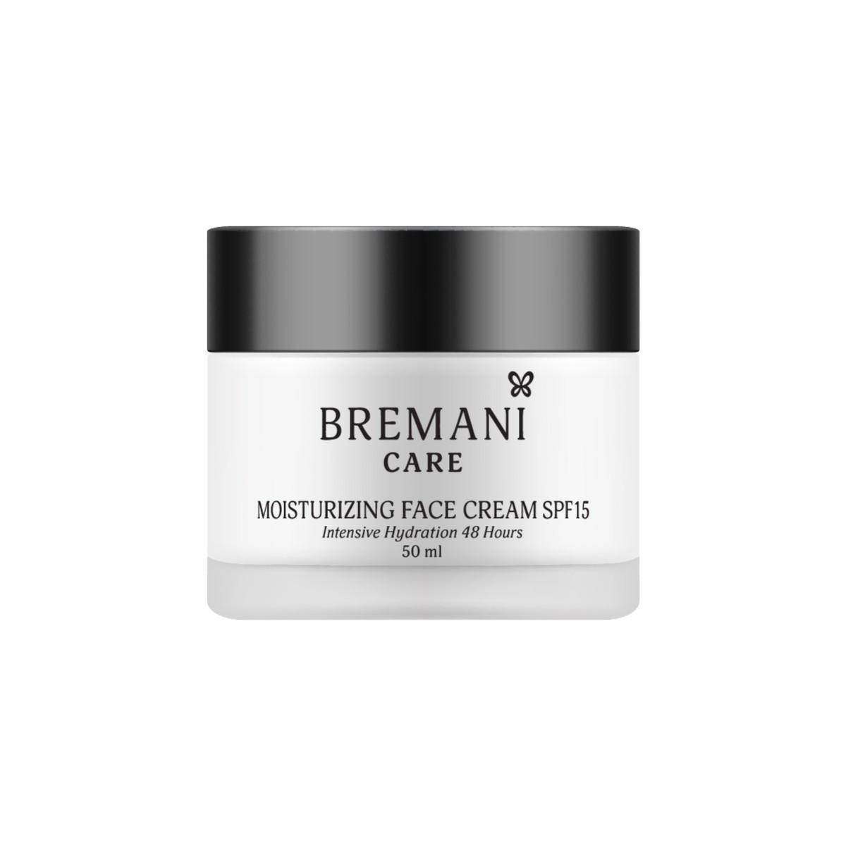 Moisturizing Face Cream SPF15.  Увлажняющий крем для лица SPF15. Интенсивное увлажнение на 48 ч, 50мл