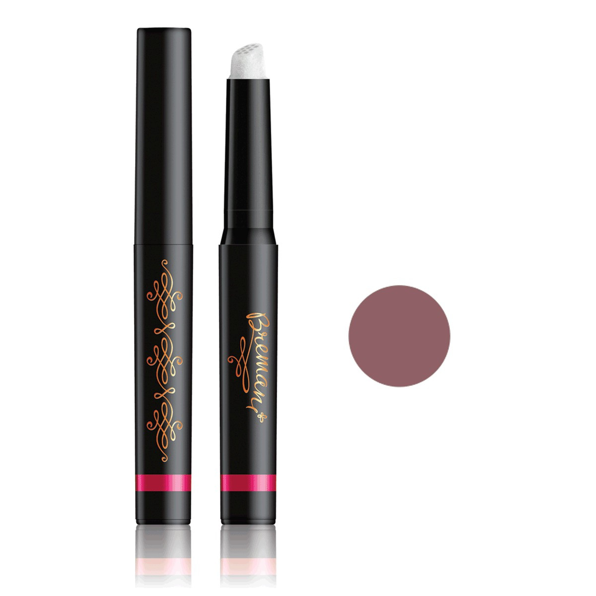 "New! Lipstick Caramel Новинка! Помада ""Карамель"" с фибровым аппликатором, Bremani, NSP, НСП, Италия."