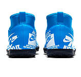 Детские сороконожки Nike Mercurial Superfly Club AT8156-414, фото 3