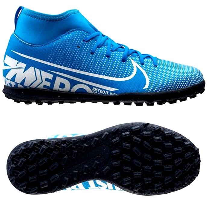 Детские сороконожки Nike Mercurial Superfly Club AT8156-414