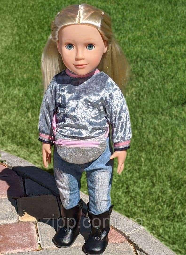 Говорящая интерактивная кукла 48 см | Большая кукла Софи 48 см поет песню и рассказывает стих на украинском