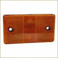 """Катафот прямоуг.Оранжевый  малый (10*4*0,7см  Wassa """"КД1-3А"""