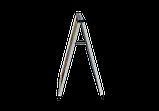 Штендер А образный алюминиевый, разборной., фото 4