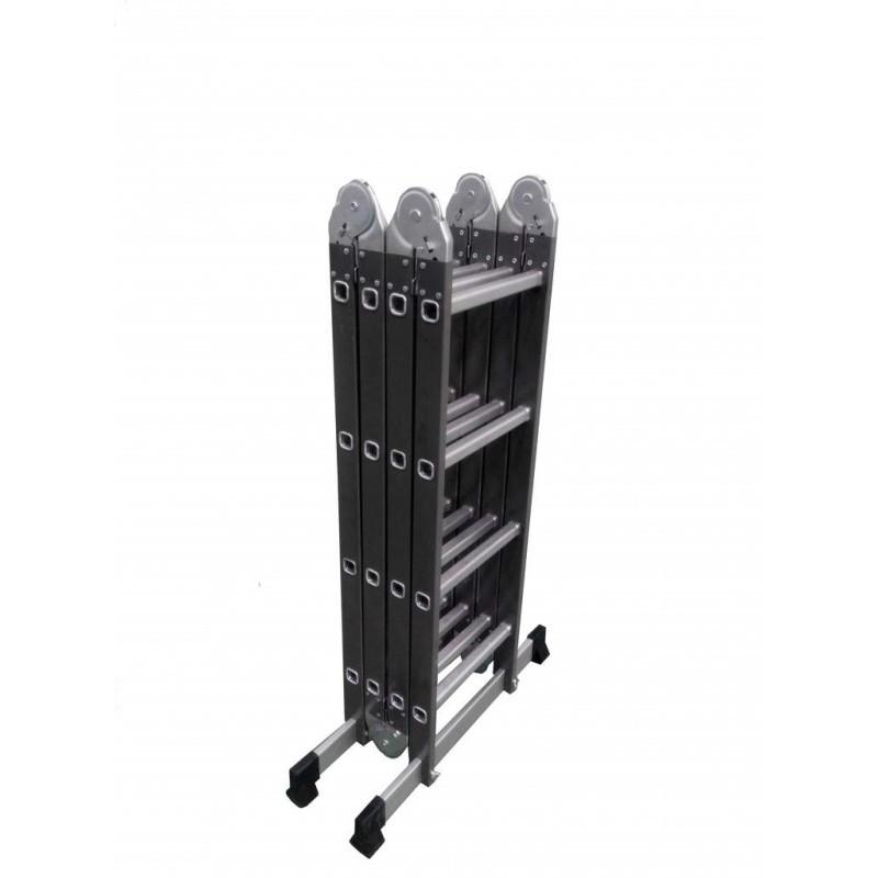 Лестница шарнирная комбинированная Werk 4.4 м 4x4 LC5416B