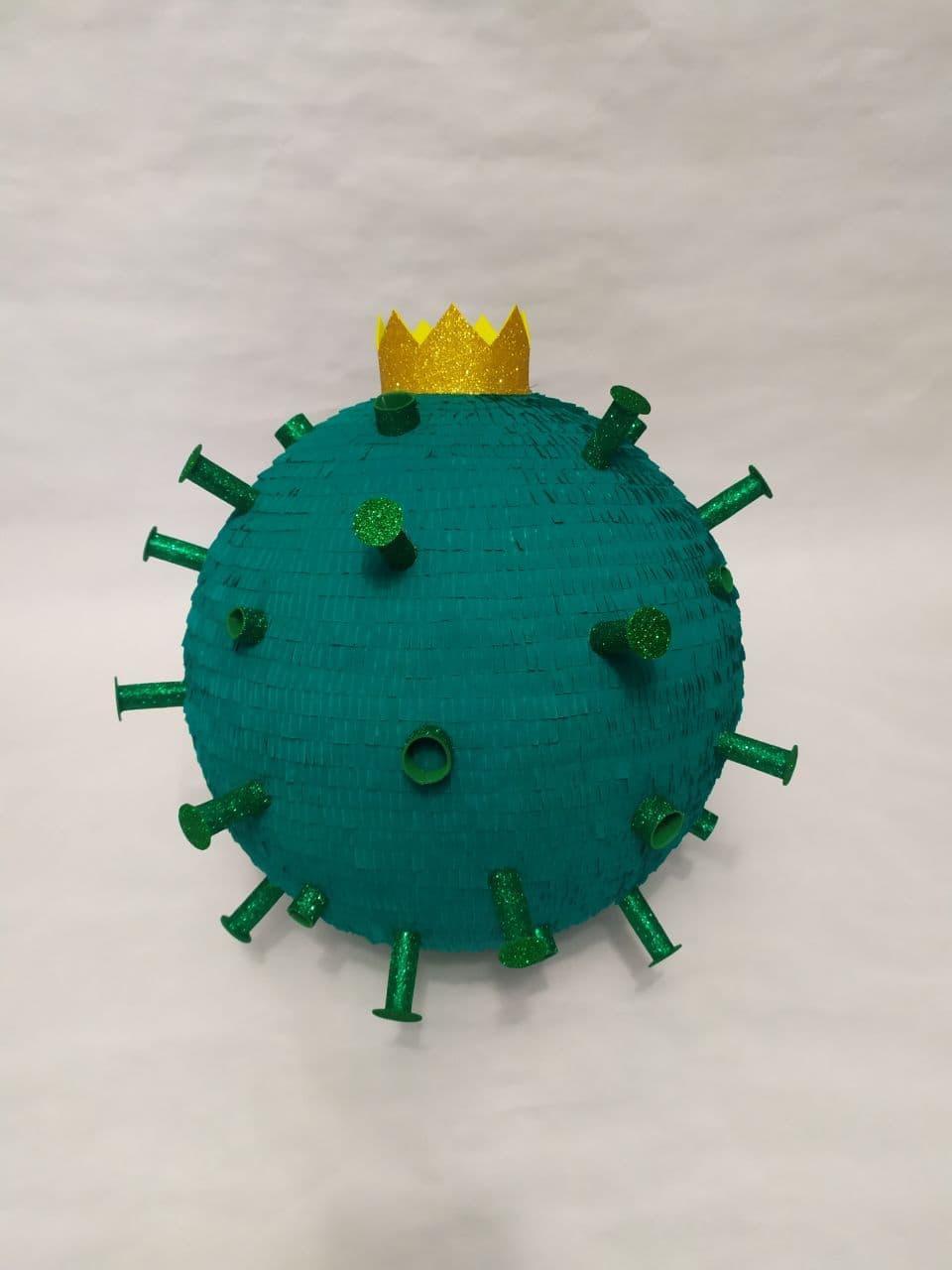 Піньята - Корона Вірус. Є розміри. Медаль в ПОДАРУНОК .