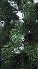 Елка искуственная Литая Сосна 1.5м (150см) Штучна ялинка Ялынка штучка Елка зелена, фото 3