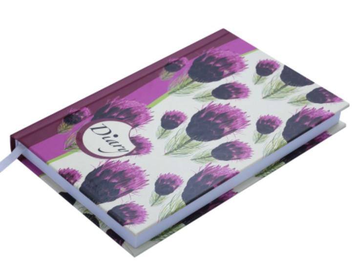 /Щоденник недатований CELINE, A6, 288 стор., вишневий
