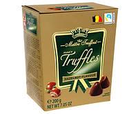 Конфеты Maitre Truffout Hazelnut Изысканный трюфель Лесной орех 200 г.