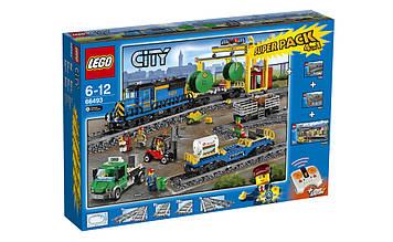 Lego City Комбинированный Супер Набор 4 в 1 Поезд