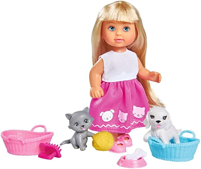 """Кукольный набор Эви """"Домашние любимцы"""" Simba 5733044"""