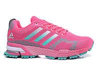 Женские кроссовки Adidas Marathon Flyknit pink