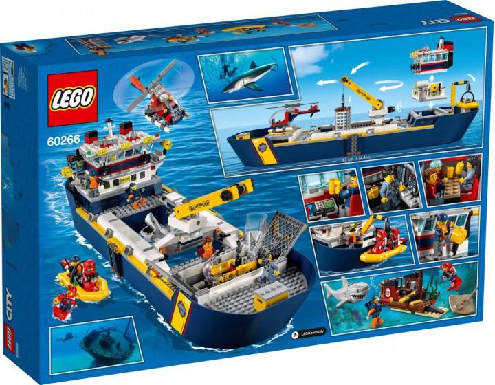 Lego City Океан Исследовательское Судно