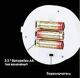 Ночник неоновый лампа Сердце Pink 8 режимов, фото 2
