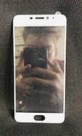 Захисне скло Full Glue Meizu M5 Note White