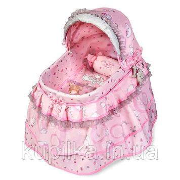 Кроватка детская для куклы DeCuevas 51134