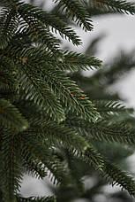 Елка искуственная Литая Альпийская (зеленая) 1.8м (180см) Штучна ялинка Ялынка штучна Елка зелена, фото 3