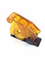Крышка для тумблера - оранжевая - прозрачная - RS 25
