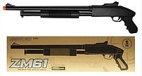 Игрушечная помповая, металлическая винтовка автомат для ребенка CYMA ZM61