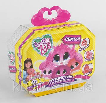 "Мягкая игрушка Scruff A Luvs 9199 ""Няшка-Потеряшка Семья"""