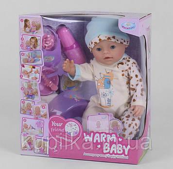 Детский интерактивный пупс для девочки WZJ 058 A-577 с аксессуарами, 10 функций (высота 40 см)
