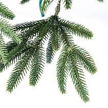 Елка искуственная Литая Альпийская (зеленая) 2.3м (230см) Штучна ялинка Ялынка штучна Елка зелена, фото 2