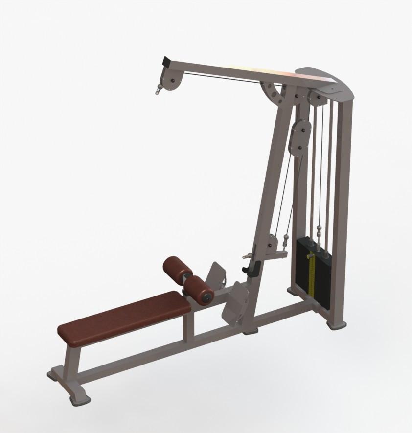 Блок для мышц спины комбинированый (тяга верхняя-нижняя)