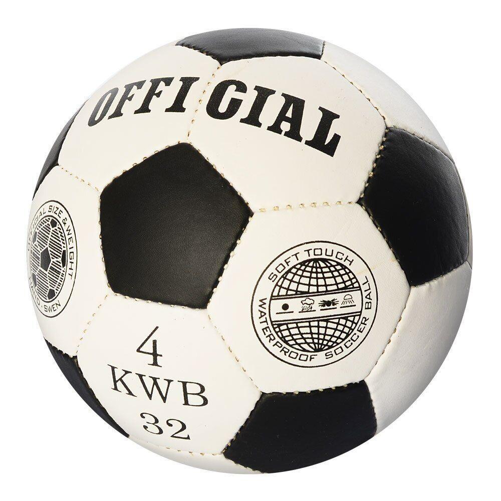 Футбольный мяч Profiball Official 4 Черный (2501-22)