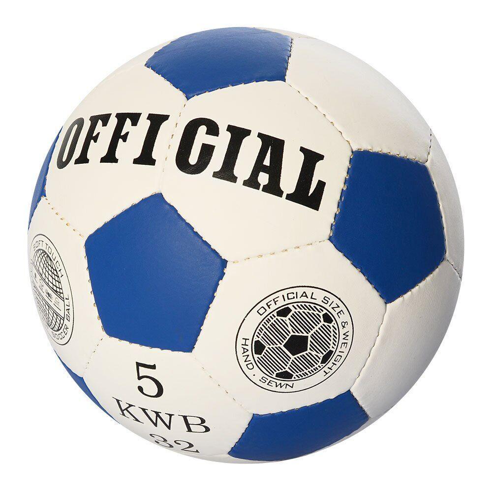 Футбольный мяч Profiball Official 5 Синий (2500-202)