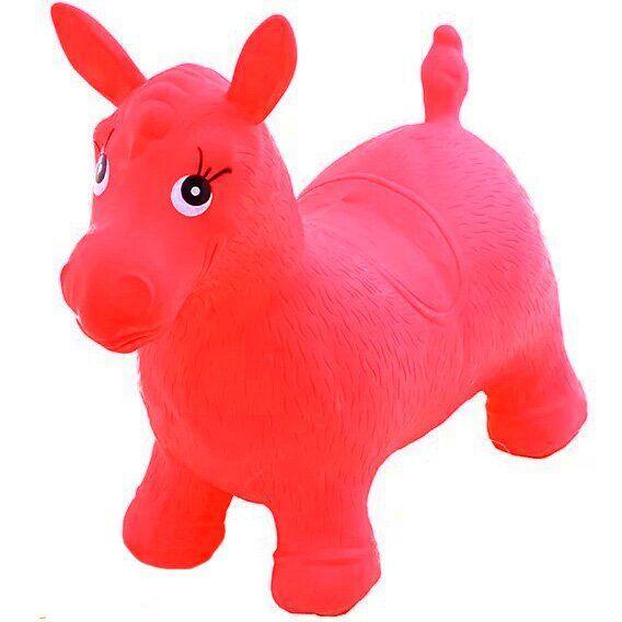 Попрыгунчик Bambi MS 0001 Лошадка Красный