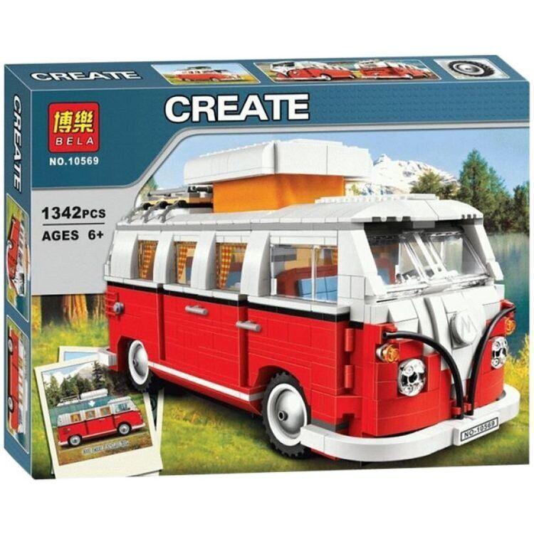 Конструктор Bela Create Микроавтобус (10569)
