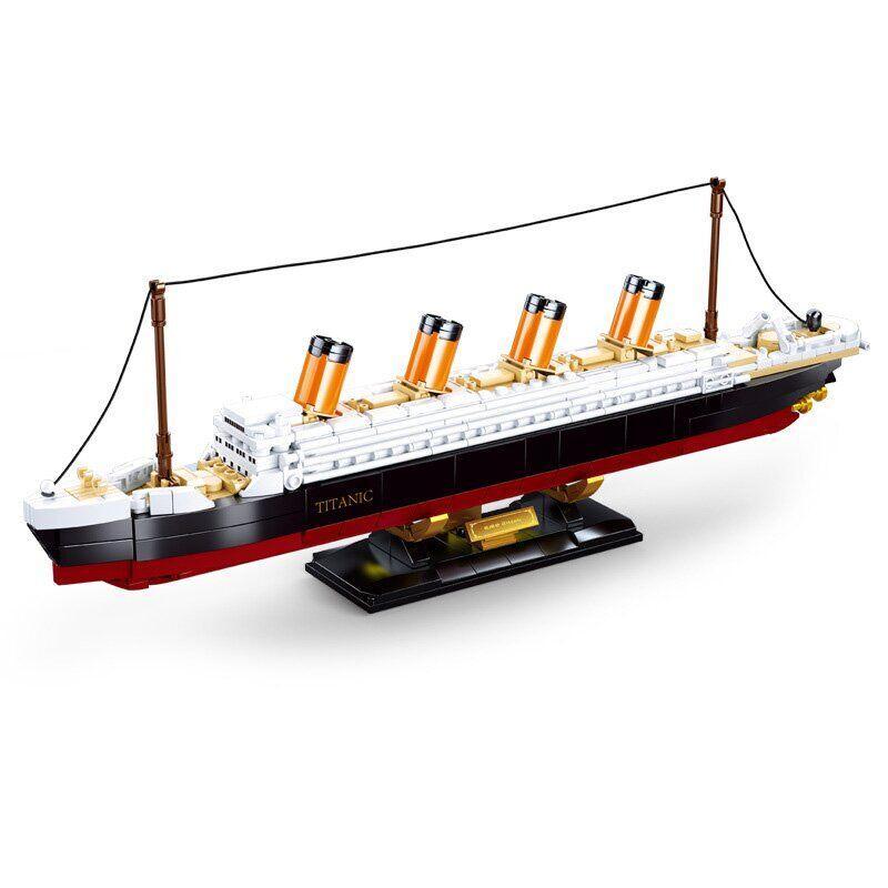 Конструктор Sluban Titanic, 481 элемент (M38-B0835)