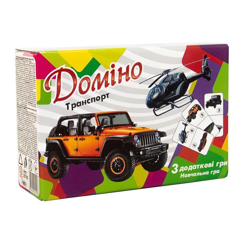 Домино Strateg Транспорт, укр. (30765)