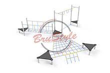 Детский игровой канатный комплекс BruStyle LK236