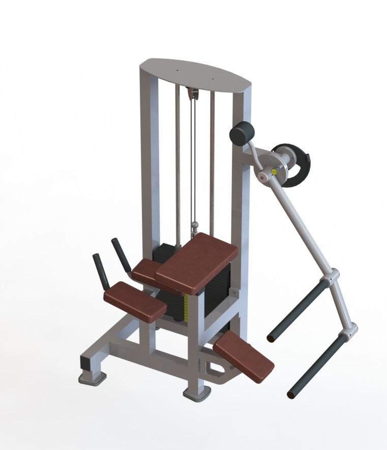 Тренажер для сідничних м'язів (радіальний)