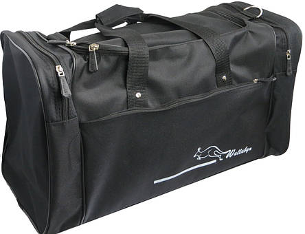 Дорожная сумка Wallaby 3050, средняя,  45 л, черный, фото 2
