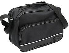 Практичная сумка мужская  из полиэстера Wallaby 2130 черная, фото 3