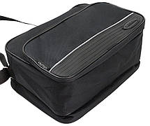 Практичная сумка мужская  из полиэстера Wallaby 2130 черная, фото 2