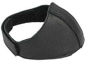 Автопятка кожаная для женской обуви чёрная 608835, фото 2