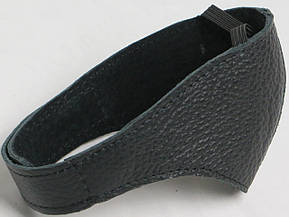 Автопятка кожаная для женской обуви чёрная 608835, фото 3